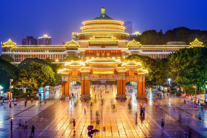Chongqing - quang truong nhan dan