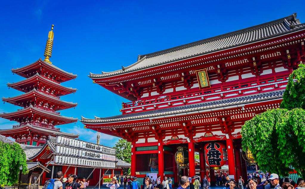 Asakusa H?z?mon Treasure House Gate - Tokyo Japan
